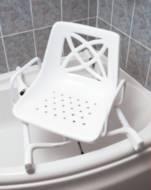 Siège de bain pivotant pour baignoire d'angle | Autonomie & vie quotidienne