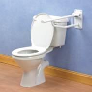 Barre d'appui WC relevable Devon Elite Homecraft | Autonomie & vie quotidienne