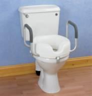 Autonomie & vie quotidienne / Siège de toilettes avec accoudoirs