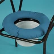 Coussin pour chaise percée circulaire rembourré | Autonomie & vie quotidienne