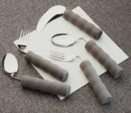 Couteau courbé avec manche en mousse Homecraft | Autonomie & vie quotidienne