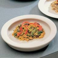 Assiette avec rebord intégré | Autonomie & vie quotidienne