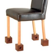 Réhausseurs de chaises en bois Homecraft | Autonomie & vie quotidienne