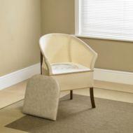 Autonomie & vie quotidienne / Chaise percée en bois Homecraft