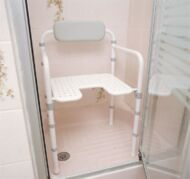 Chaise de douche pliante Homecraft | Autonomie & vie quotidienne