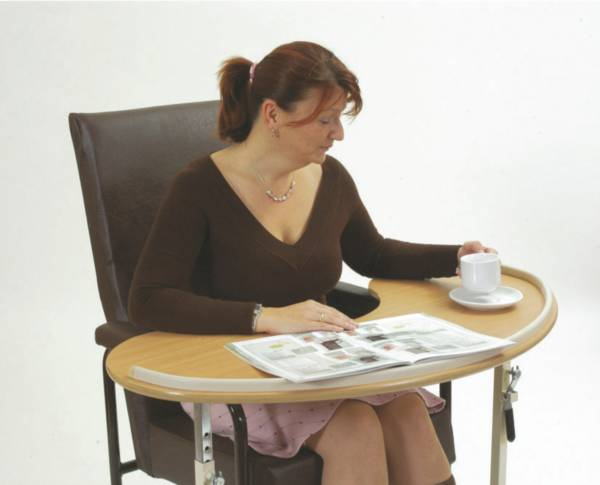 Table de fauteuil Kidney | Autonomie & vie quotidienne