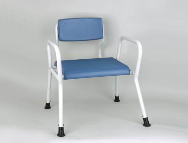 Chaise de douche / Chaise percée XXL - Bariatrique | Autonomie & vie quotidienne