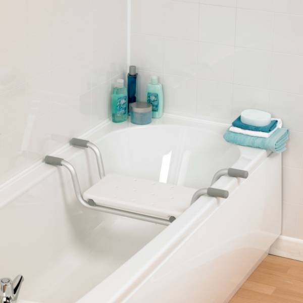Siège de bain suspendu aluminium Homecraft | Autonomie & vie quotidienne