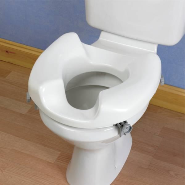 Autonomie & vie quotidienne / Siège de toilettes avec découpe arrière Ashby