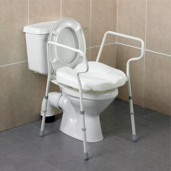 Autonomie & vie quotidienne / Cadre de toilettes Stirling Elite Homecraft