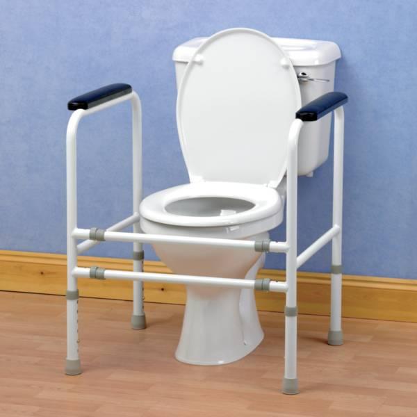 Autonomie & vie quotidienne / Cadre de toilettes ajustable Homecraft