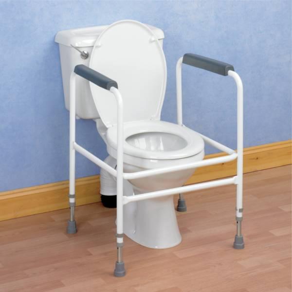Autonomie & vie quotidienne / Cadre de toilettes en acier