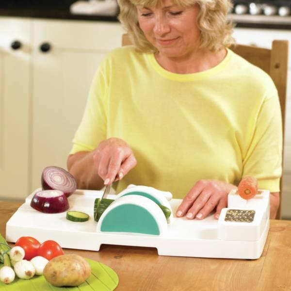 4 ventouses pour poste de cuisine multifonctions | Autonomie & vie quotidienne