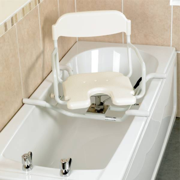 Siège de bain pivotant avec découpe Days | Autonomie & vie quotidienne
