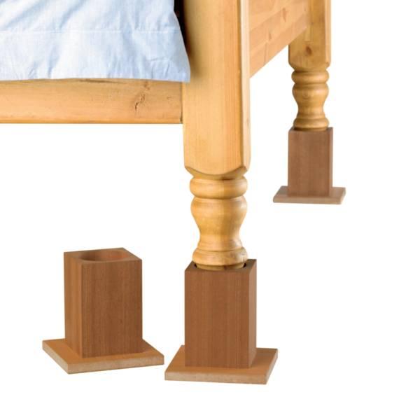 Réhausseurs de lits en bois Homecraft | Autonomie & vie quotidienne