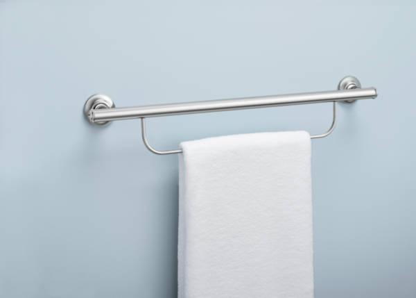 Autonomie & vie quotidienne / Barre d'appui avec support de serviette Moen®