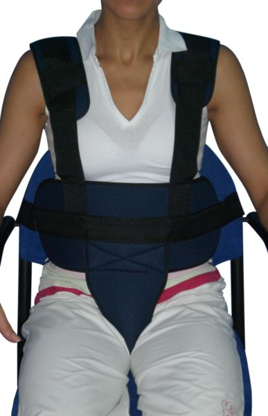 Ceinture pelvienne pour siège - Tissu respirant avec boucle | Autonomie & vie quotidienne