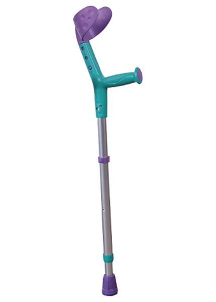Aides à la mobilité / Béquille enfant Tiki - Turquoise & Violet