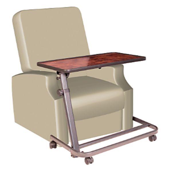 Table pour fauteuil releveur - Ronce de noyer | Autonomie & vie quotidienne
