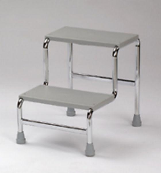 marchepied 2 marches chrom equipements de r ducation. Black Bedroom Furniture Sets. Home Design Ideas
