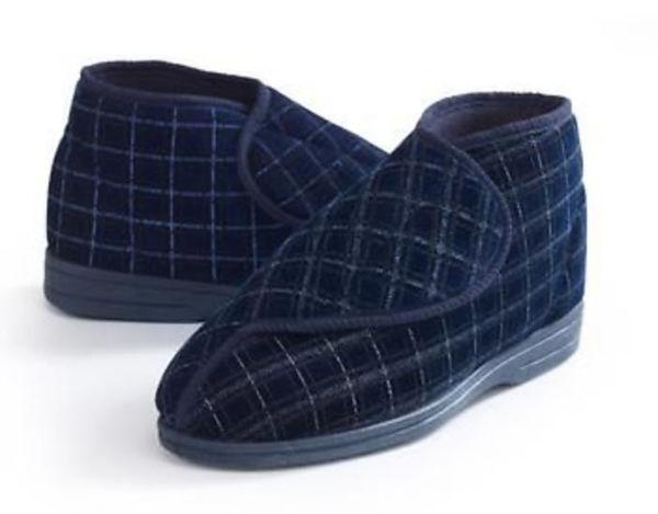Chaussons confortables enveloppants pour hommes | Autonomie & vie quotidienne