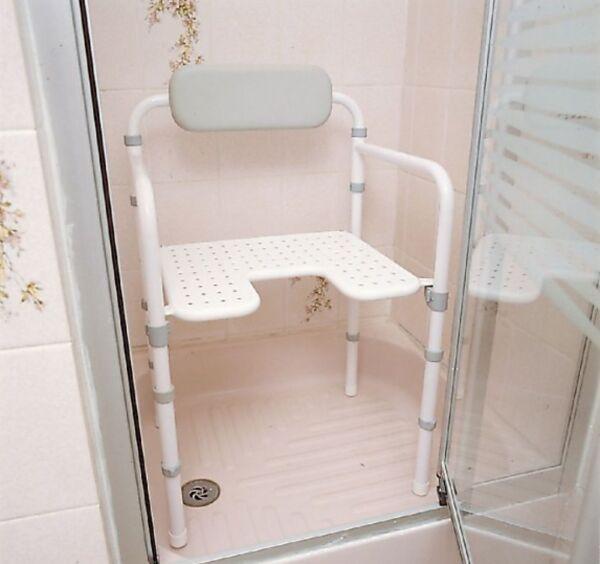 Chaise de douche pliante Homecraft   Autonomie & vie quotidienne