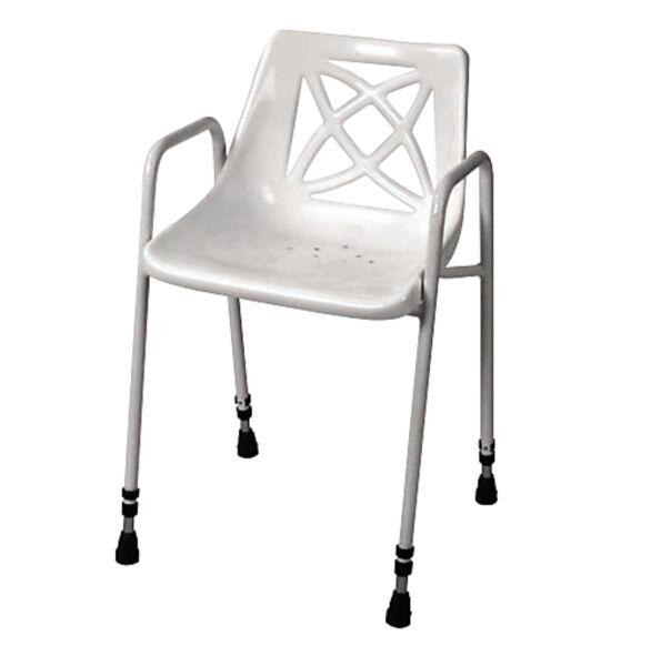 Chaise de douche hauteur fixe - Homecraft | Autonomie & vie quotidienne