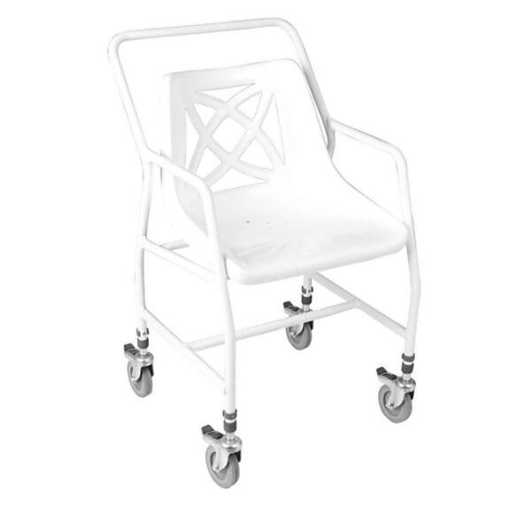 Chaise de douche mobile Hauteur variable - Homecraft | Autonomie & vie quotidienne