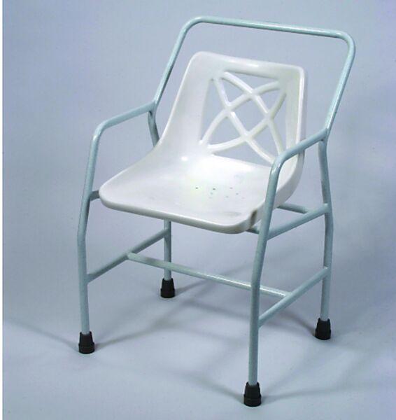 Chaise de douche hauteur fixe Extra Large - Homecraft | Autonomie & vie quotidienne